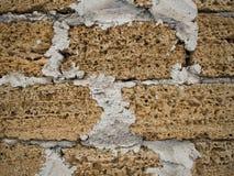 De textuur van de baksteensteen als achtergrond wordt gebruikt die stock afbeelding