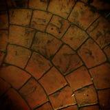 De textuur van de baksteenvloer royalty-vrije stock foto's