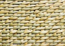 De textuur van de bamboeambacht Stock Foto's