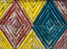 De textuur van de bamboeomheining Royalty-vrije Stock Afbeelding