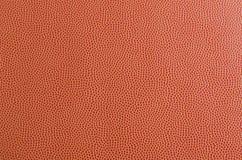 De textuur van de basketbalbal Stock Afbeelding