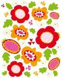 De textuur van de bloem Stock Foto