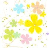 De textuur van de bloem Royalty-vrije Stock Foto