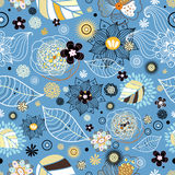 De textuur van de Bloem van de herfst Royalty-vrije Stock Afbeelding