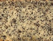 De Textuur van de Cake van het Zaad van de papaver Stock Fotografie