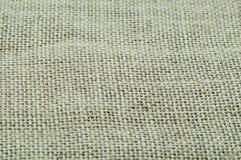 De textuur van de canvasstof Stock Afbeelding