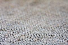 De textuur van de canvasstof Stock Fotografie