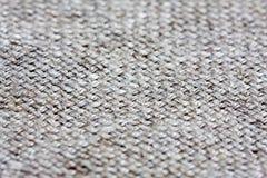 De textuur van de canvasstof Stock Foto's