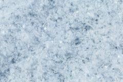 De textuur van de close-up van de sneeuwoppervlakte Royalty-vrije Stock Afbeelding