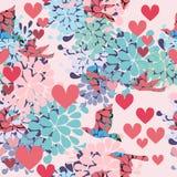 De textuur van de Dag van Valentin `s stock illustratie