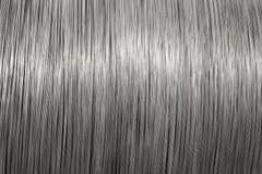 De textuur van de de draadspoel van het aluminium Royalty-vrije Stock Foto