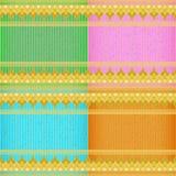 De textuur van de de kaartraad van haaitanden Stock Afbeelding