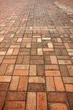 De textuur van de de wegbestrating van de steenstraat Royalty-vrije Stock Foto