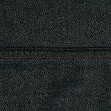 De Textuur van de denimstof - Donker Gray With Seams Stock Afbeelding