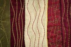 De textuur van de doek Stock Afbeeldingen