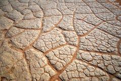 De textuur van de droogte Stock Afbeeldingen