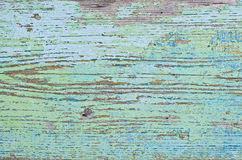 De textuur van de geschilderde houten Raad Stock Fotografie