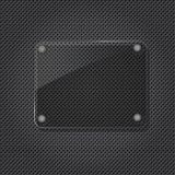 De textuur van de grill met glas Royalty-vrije Stock Afbeelding