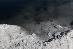 De textuur van de grondgrond, mineralen Royalty-vrije Stock Afbeelding