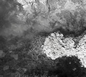 De textuur van de grondgrond, mineralen Stock Afbeeldingen