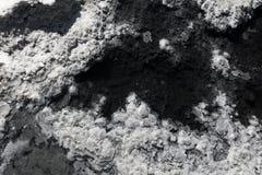 De textuur van de grondgrond, mineralen Royalty-vrije Stock Foto