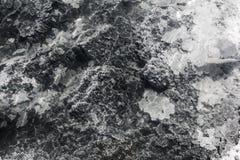 De textuur van de grondgrond, mineralen Royalty-vrije Stock Foto's