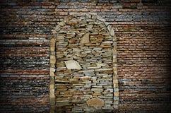 De textuur van de Grungebakstenen muur Royalty-vrije Stock Fotografie