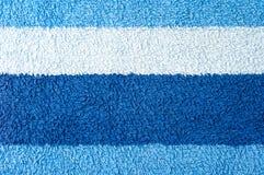 De textuur van de handdoek Stock Foto's