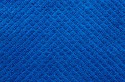 De textuur van de handdoek. Sluit omhoog. Stock Foto