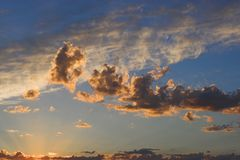 De textuur van de hemel Stock Foto's