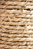 De textuur van de hennepkabel Royalty-vrije Stock Foto
