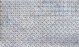 De textuur van de het staalplaat van de diamant Stock Afbeeldingen