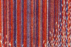 De textuur van de hoge resolutiehanddoek Stock Fotografie