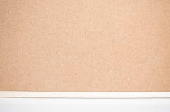 De textuur van de houtvezelplaat Stock Fotografie