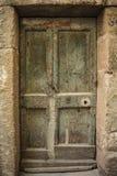 De textuur van de ingangsdeur Stock Foto's