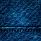De textuur van de jeans Stock Foto