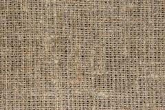 De textuur van de jutevezel Stock Fotografie