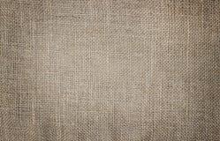 De textuur van de jutezak Stock Afbeeldingen