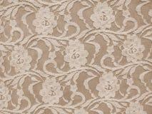 De textuur van de kantstof Royalty-vrije Stock Afbeelding
