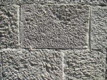 De textuur van de kasteelsteen Stock Fotografie