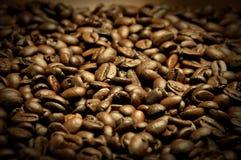De textuur van de koffie stock foto's