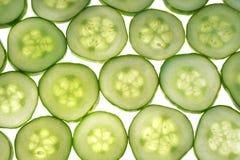 De textuur van de komkommer Stock Foto