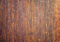 De textuur van de koperplaat Stock Afbeeldingen