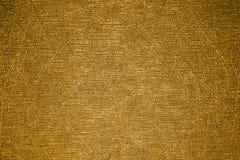 De textuur van de kras op de Gouden oppervlakte Royalty-vrije Stock Afbeelding
