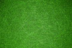 De textuur van de krassen op de groene oppervlakte Royalty-vrije Stock Foto's
