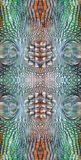 De textuur van de krokodilhuid Stock Foto's