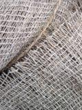 De textuur van de linnenstof Stock Foto