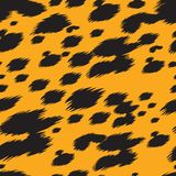 De textuur van de luipaard Royalty-vrije Stock Afbeelding