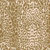 De textuur van de luipaardstof Royalty-vrije Stock Fotografie