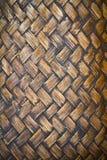 De textuur van de mand Royalty-vrije Stock Foto